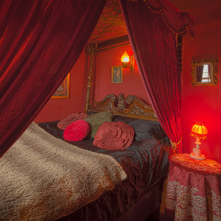 Caravan bedroom
