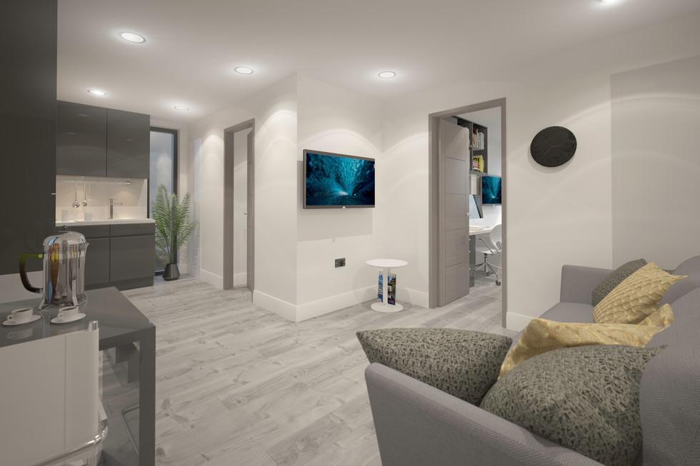 2 Bedroom Apartment View 2