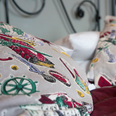 Vintage cushion covers