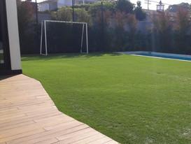 Low-water backyard