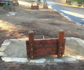 Custom Horseshoe pits