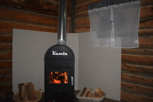 La chaleur du feu...