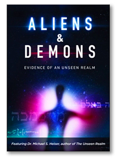 DVD - Aliens And Demons (Evidence of Unseen Realm) - Michael Heiser