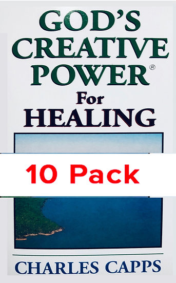 God's Creative Power for Healing (10 PACK)