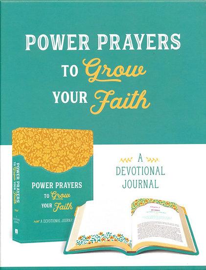 PRAYER JOURNAL: Power Prayers to Grow Your Faith