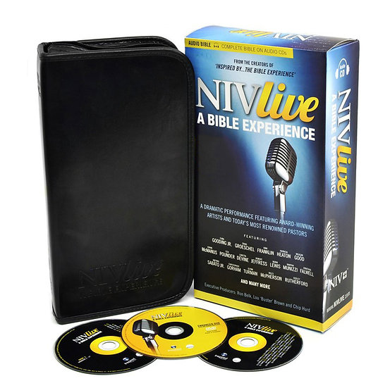 AUDIO BIBLE ON CD: NIV Live - A Bible Experience