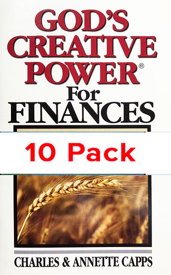 God's Creative Power for Finances (10 PACK)
