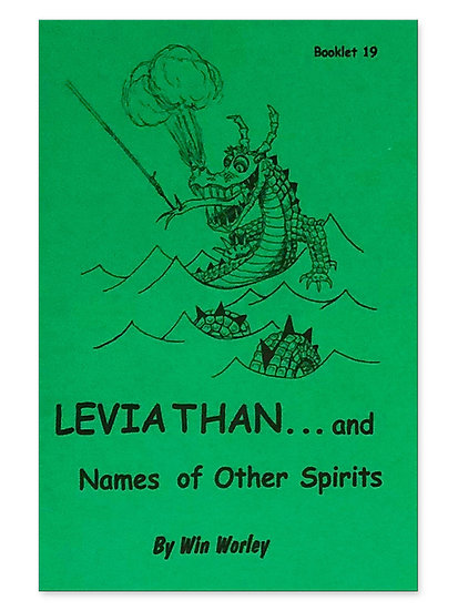 Leviathan...and Names of Other Spirits #19