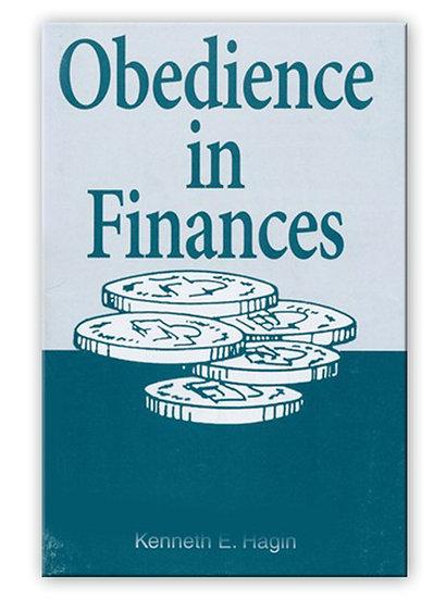 Obedience In Finances