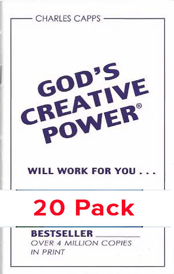 God's Creative Power Will Work for You (20 PACK)