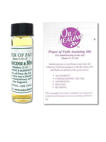 Anointing Oil - Frankincense & Myrrh (1/4 oz.)