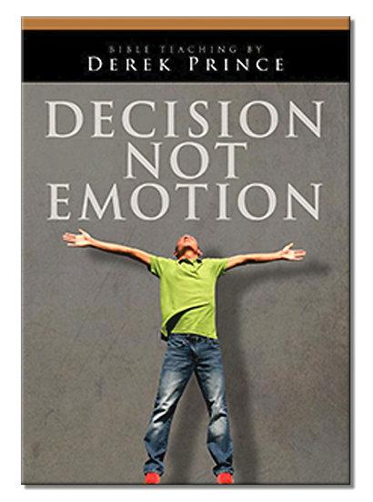 Decision - Not Emotion (1 CD)
