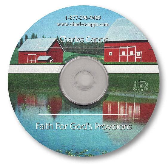 Faith for God's Provisions (1 CD)
