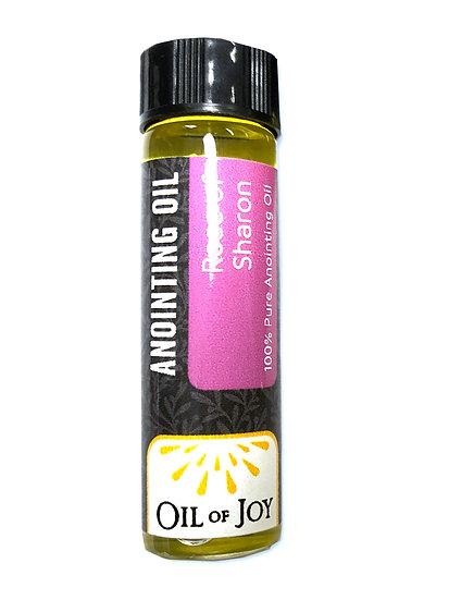 Bottle of Anointing Oil - Rose of Sharon (1/4 oz.)