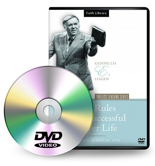 DVD: Five Rules For A Successful Prayer Life