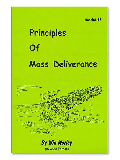 Principles of Deliverance & Mass Deliverance #27