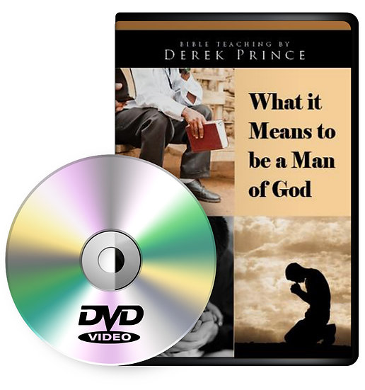 What It Means to Be a Man of God (1 DVD)
