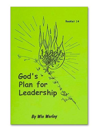 God's Plan For Leadership #14