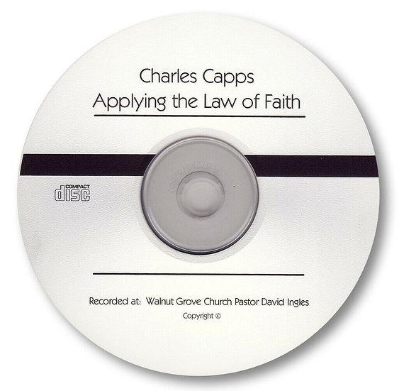 Applying the Law of Faith (1 CD)