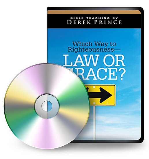 Which Way to Righteousness—Law or Grace? (4 CDs)