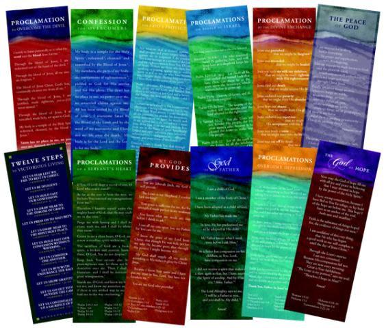Proclamation Cards - Complete Set (color)