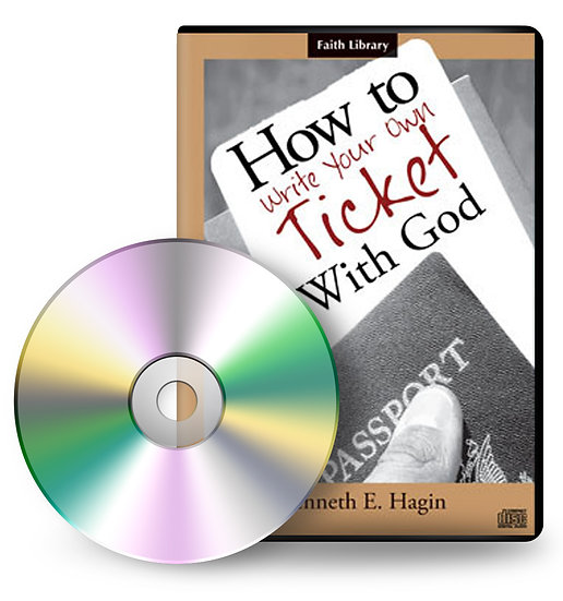 Audio CD: How To Write Your Own Ticket With God (4 CDs)