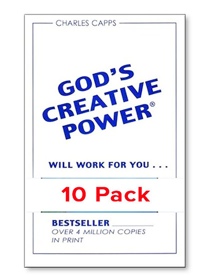 God's Creative Power Will Work for You (10 PACK)
