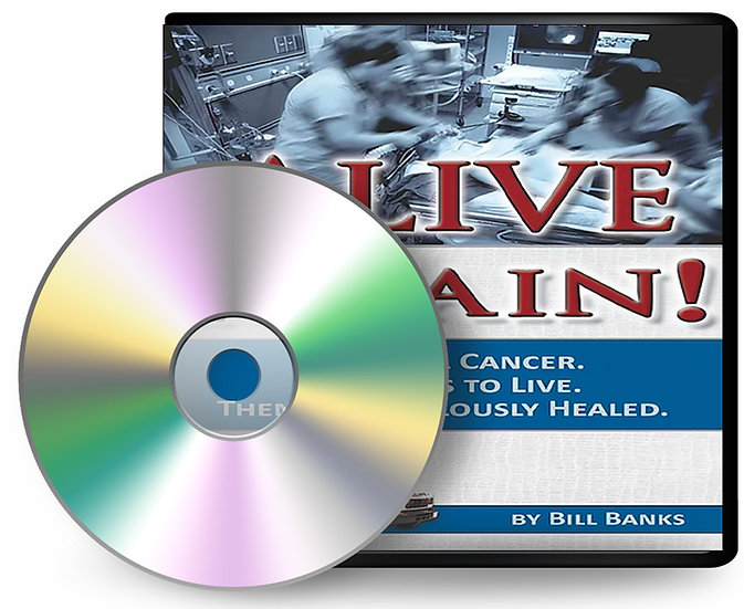 Alive Again! Audio Book on Compact Disc