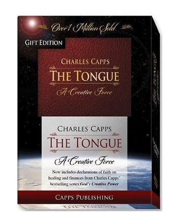 The Tongue: A Creative Force Gift Edition (Burgundy Bond in a Gift Box)