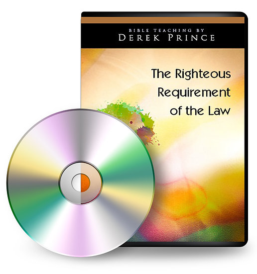 The Righteous Requirement of the Law (1 CD)