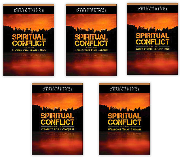 The Spiritual Conflict Audio Package (Volume 1 - 5)