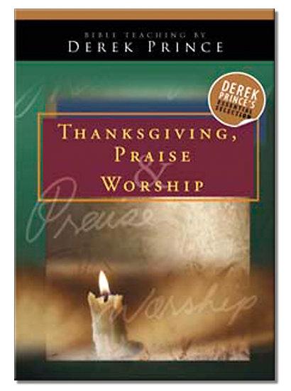 Thanksgiving, Praise and Worship (1 CD)