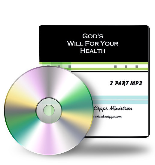 God's Will for Your Health (2 CDs)