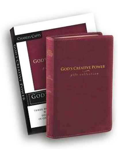 God's Creative Power Gift Edition-Burgundy Bond
