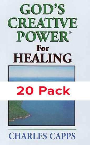 God's Creative Power for Healing (20 PACK)