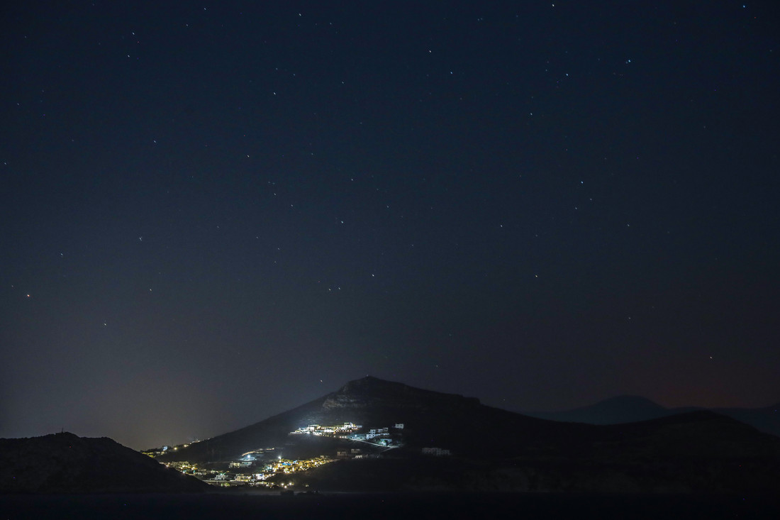 Une nuit à Naxos, Grèce