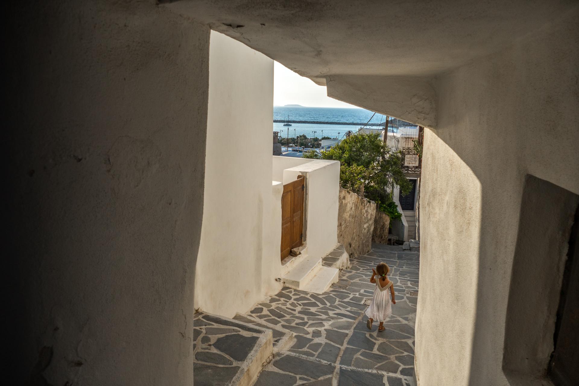 Dans les rues de Naxos