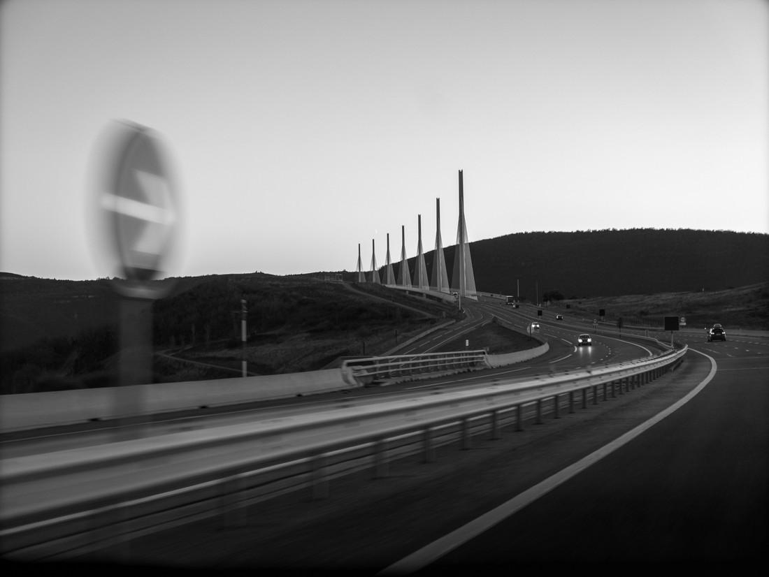L'aqueduc de Millau, Aveyron, France