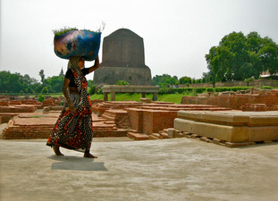 Paysanne à Sarnath