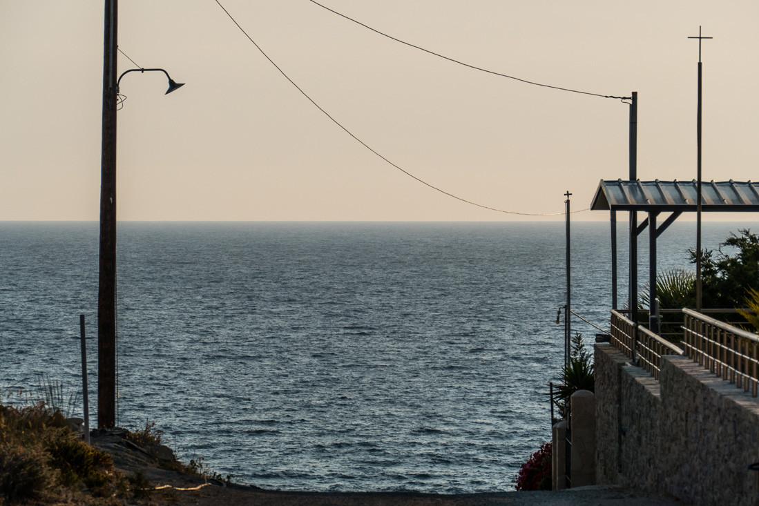 Plongée dans la mer de Crète, Grèce