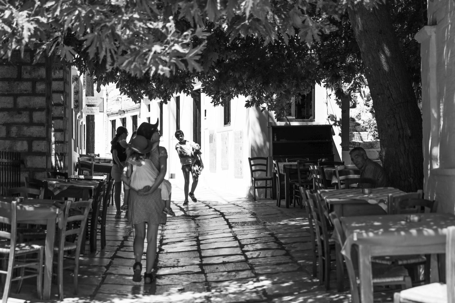Dans les rues de Filoti