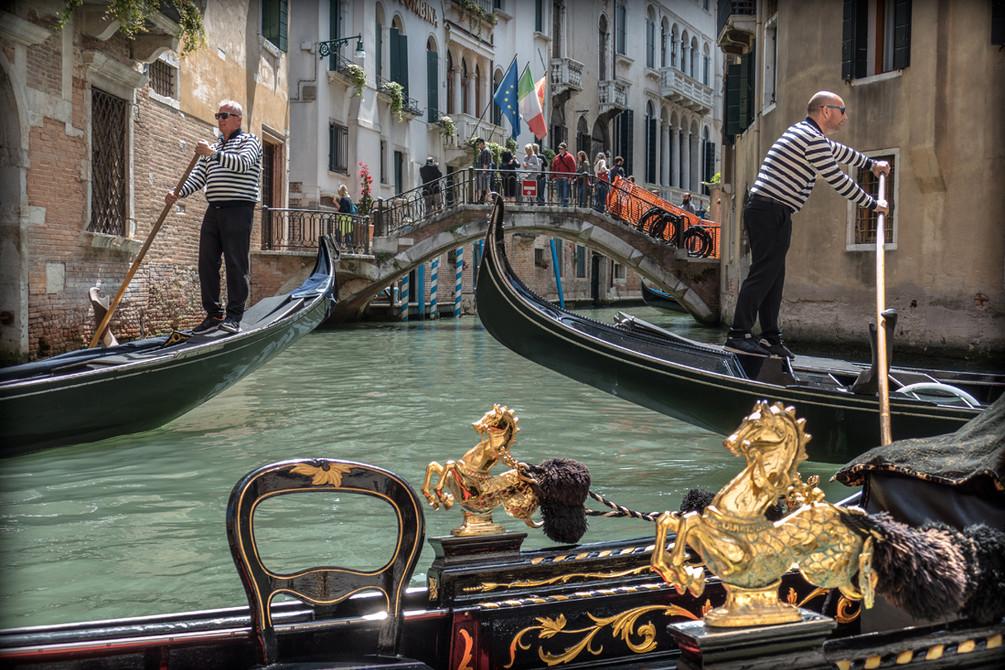 Gondoliers de Venise