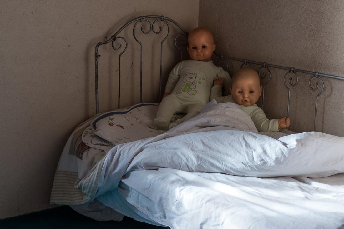 Vieilles poupées