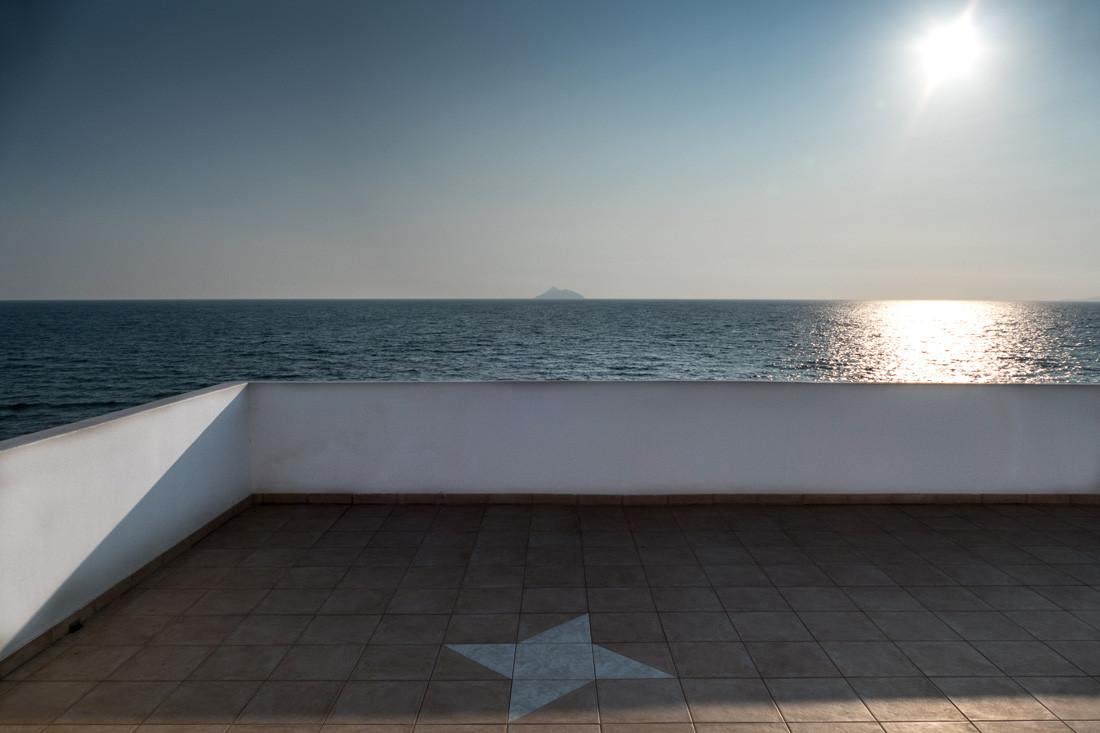 Terrasse, Sfakia, Crète