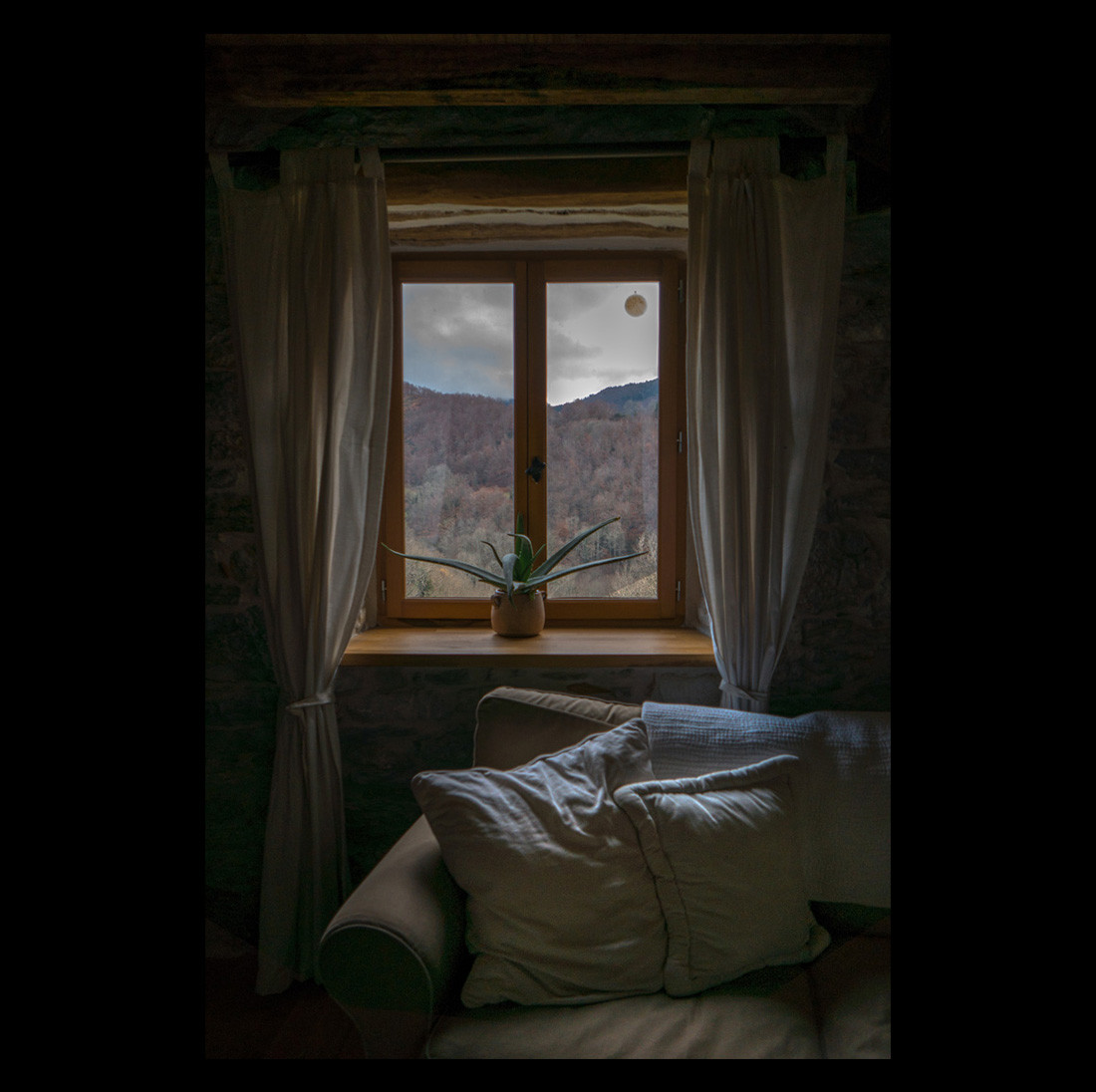 Une journée d'hiver dans les montagnes