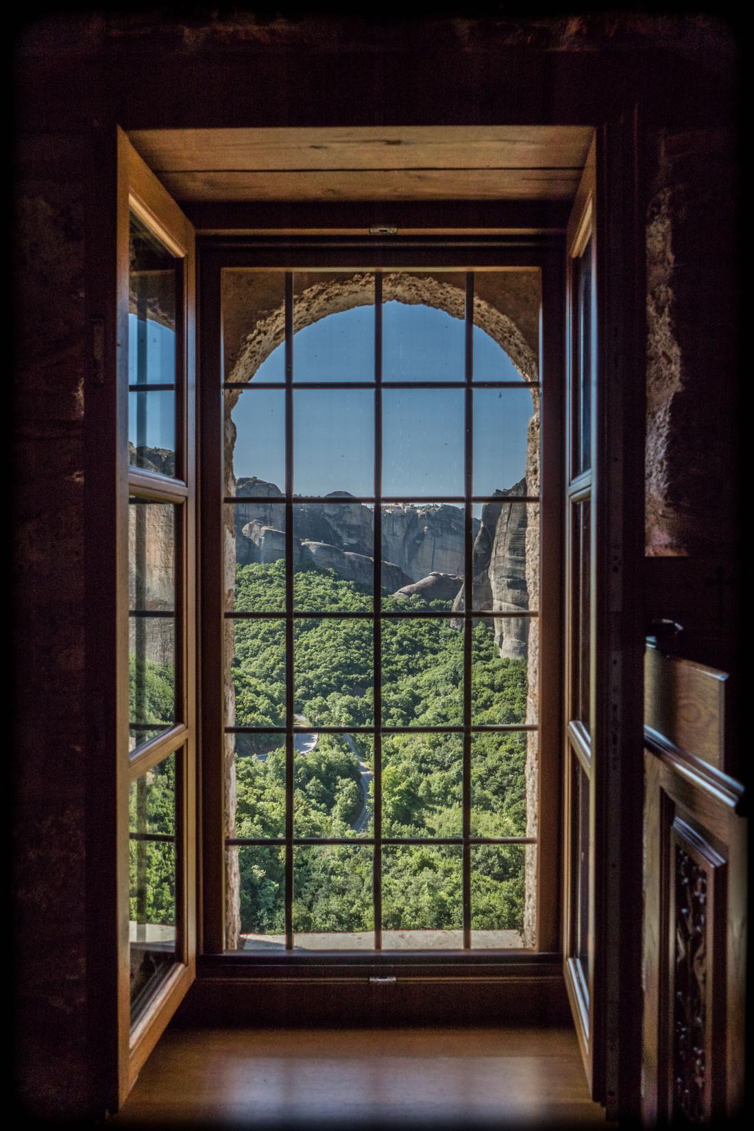 La fenêtre du monastère