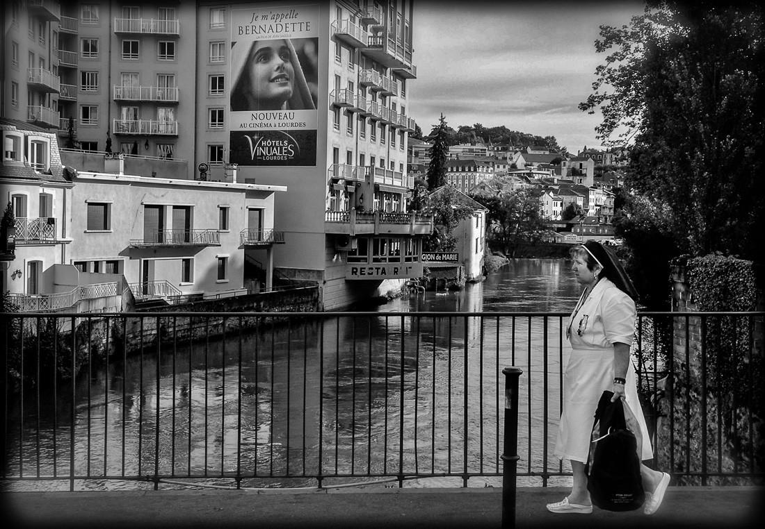 À Lourdes