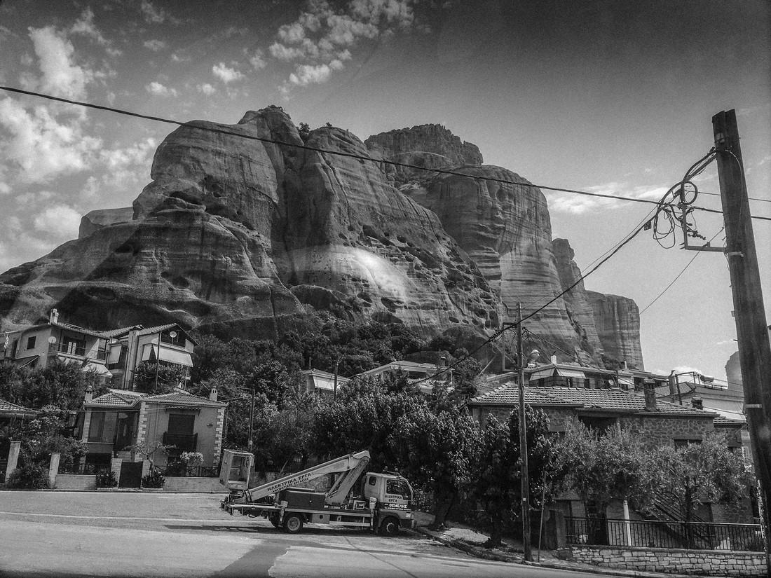 Route des Météores, Grèce