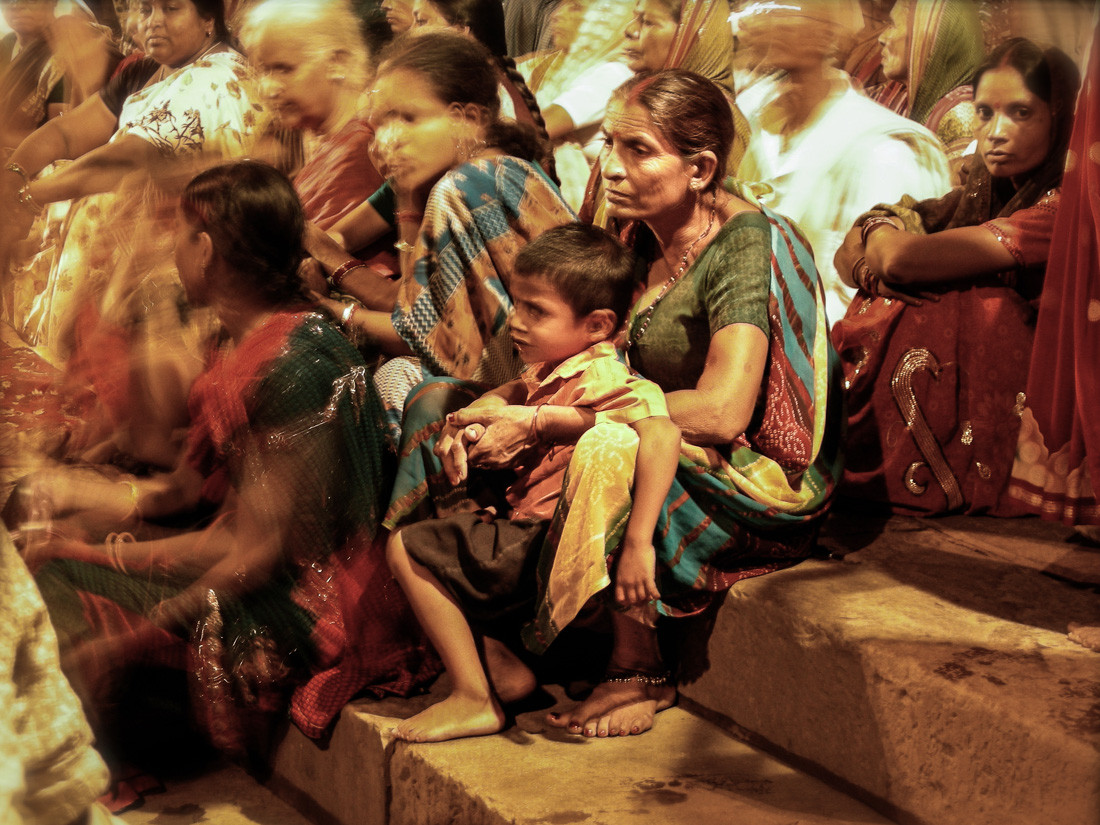 Pooja à Bénarès