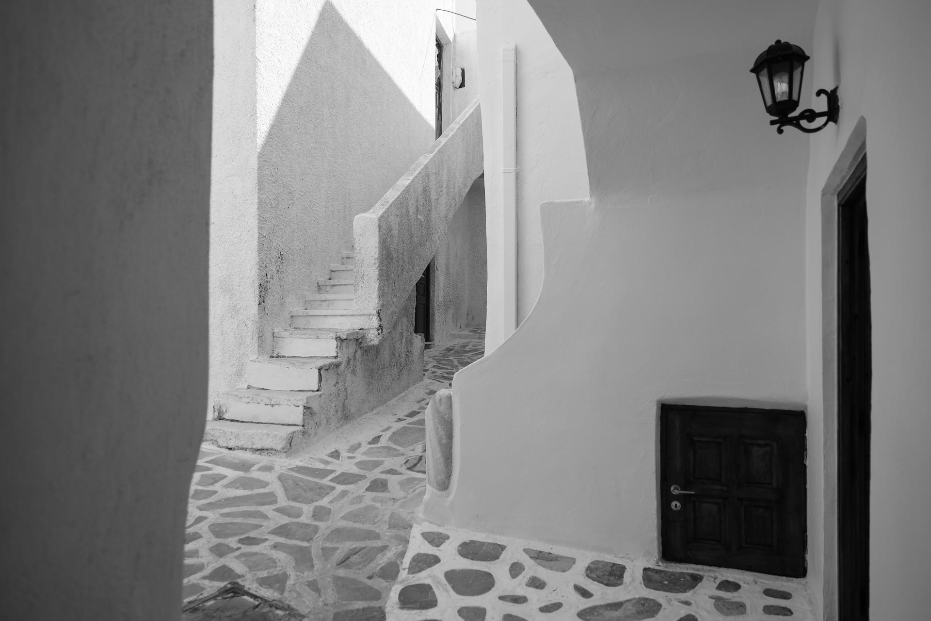 Dans les ruelles de Naxos